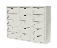 15 Compartment Cell Phone Lockers Unit