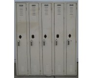 Used metal school lockers