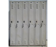 Tan Republic metal lockers