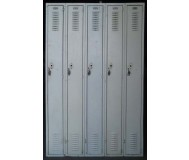 Green Medart Steel Lockers