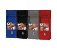 Ball Storage Locker with Shelf and Security Box