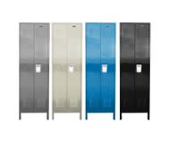 Executive Locker with Recessed Handle, Legs, & Louvers