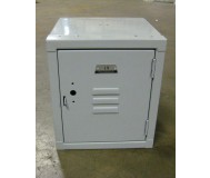 Cube Locker in Ash Gray
