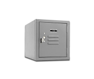 Cube locker, Gray
