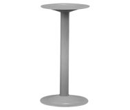 """Bench Pedestal.  16-1/4"""" high.  Stainless Steel.  Free-Standing."""