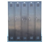 Brown Metal Lockers